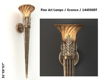 3ds max fine art lamps sconce