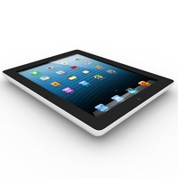 3d apple ipad2 model