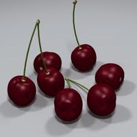 3d model of cherry