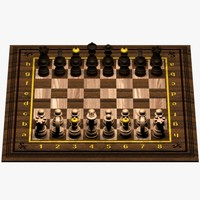 wood chess 3ds free