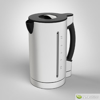 3d electric kettle model