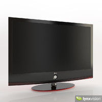 scarlet lh70 lcd tv 3d obj