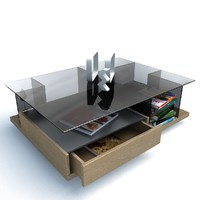 3d model hulsta coffee table