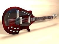 3d electic sitar