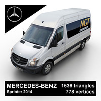 3ds max 2014 mercedes-benz sprinter van