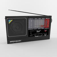 radio rp-348 3d max