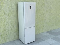 refrigerator samsung 3d model