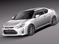 3d 3ds 2014 scion tc