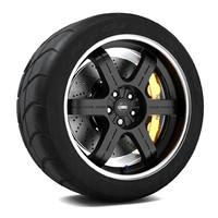 3d max nissan egoist wheel