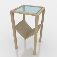 3d step table porada model