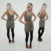 blond girl panther 3d obj