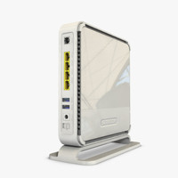 3d model site wireless router x6n900