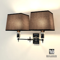 3ds max lamp lexington double