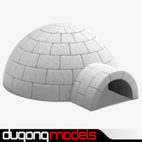 3ds max igloo house