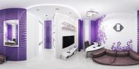 Cabinet interior scene 360