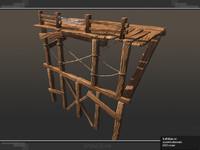 3ds max modular scaffolding