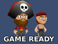 3d pirates games