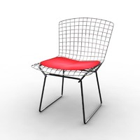 modern chair wire 3d model