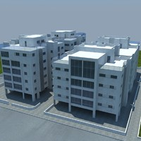 3ds max building house