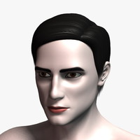 3d richard hair model