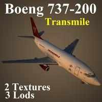3dsmax 737-200 tse