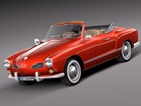 car cabrio 1974 volkswagen 3d 3ds