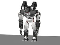 giant robot 3d max