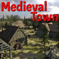 Medieval Fantasy Town
