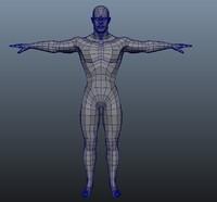 3d human man model