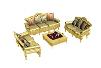 living room furniture interior set max