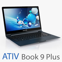 3d samsung ativ book 9 model