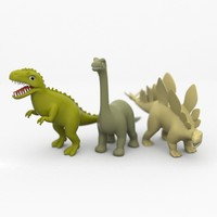 Toy Dinos Set