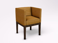 3d david linley dice chair