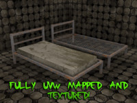 3ds max creepy beds