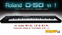 3d model roland d-50