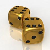 free casino bones 3d model
