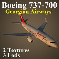 3d boeing 737-700 tgz