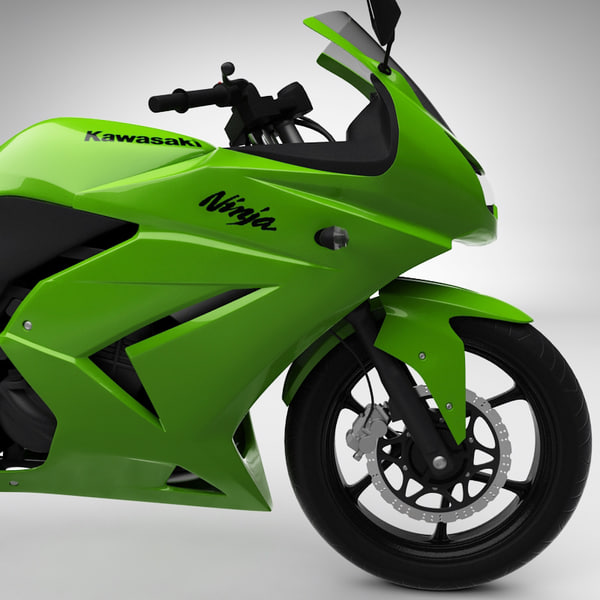 Kawasaki Ninja 250R and Motorcyclist
