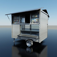 Coffee Cart - Food Stand