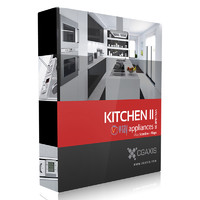 CGAxis Models Volume 33 Kitchen Appliances II VRay