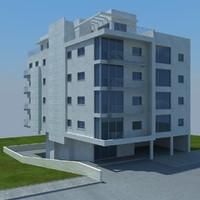3d buildings 3 model