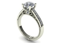 Love Engagement Ring 022