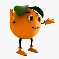 maya orange character