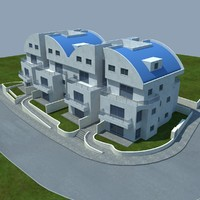 3d buildings 4 model