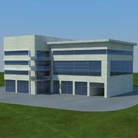 buildings 2 3d model