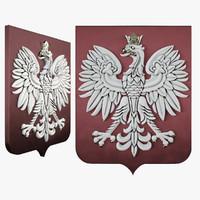 3d coat arms model