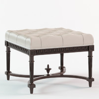 3d eichholtz footstool parisienne model