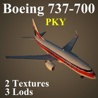 max boeing 737-700 pky