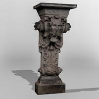 Dresden Statue Face 02b