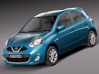 2013 2014 nissan micra 3ds